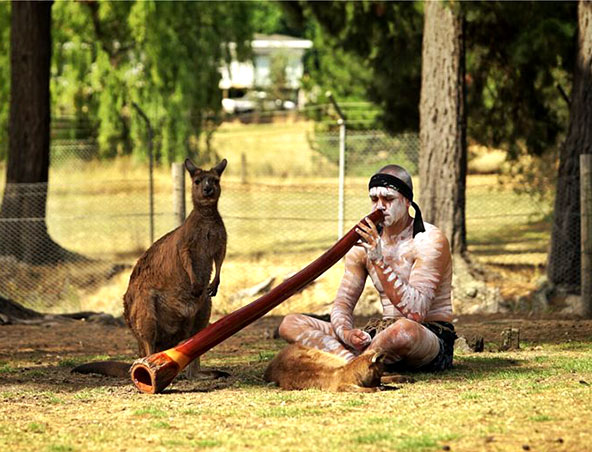 Didgeridoo Player Melbourne - Aboriginal Entertainment