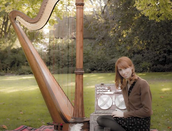 Melbourne Wedding Harpist A