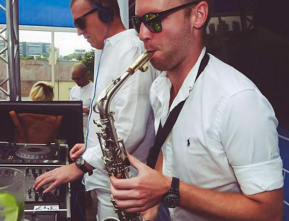 Mebourne Saxophone Player - Jarrad