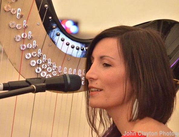 Harp Player Melbourne - Musicians Wedding Harpist