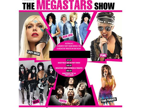 MegaStars Tribute Show - Tribute Bands - Singers - Musicians - Entertainers