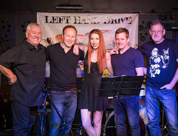 Melbourne Cover Band - Left Hand Drive - Singers Musicians