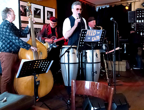 Melbourne Jazz Band Feed The Cats