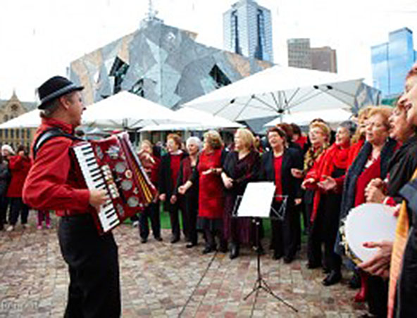 Melbourne Piano Accordion Player - Wedding Music - Singer