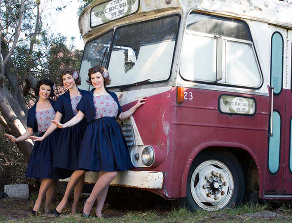Melbourne Retro Singing Trio - Wartime 1920's Band Group