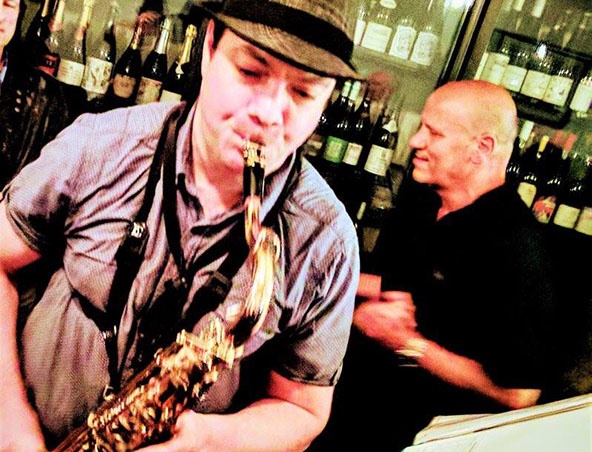 Melbourne Saxophone Player