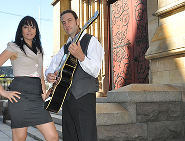 The Untouchables Acoustic Duo Melbourne - Wedding Music Singers