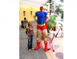 Giant Superhero